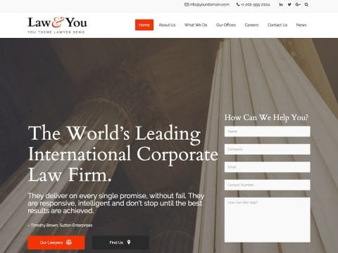 You WordPress Theme