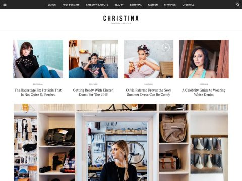Christina WordPress Theme
