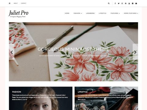 Juliet Pro WordPress Theme