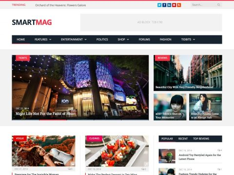 SmartMag News WordPress Theme