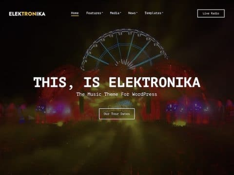 Elektronika WordPress Theme