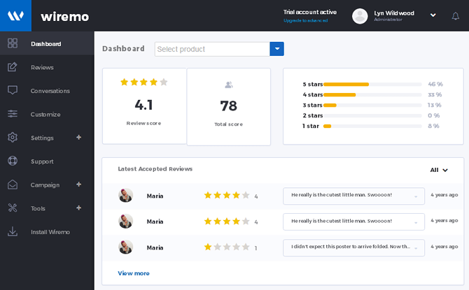 Wiremo review: A new way to handle reviews in WordPress & WooCommerce