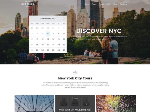 Embark Tour & Travel WordPress Theme