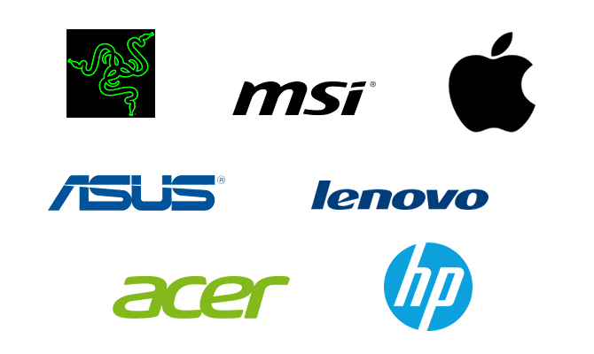 Logos Laptop Manufacturers
