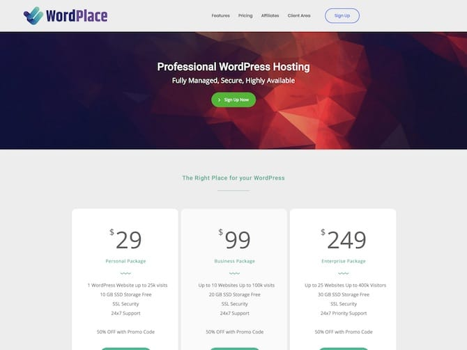WordPlace Review – Professional Managed WordPress Hosting