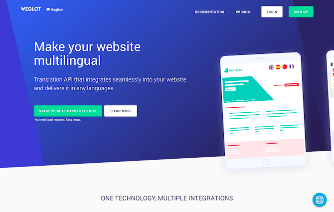 Weglot Review: Deliver your content in different languages through human and automatic translations