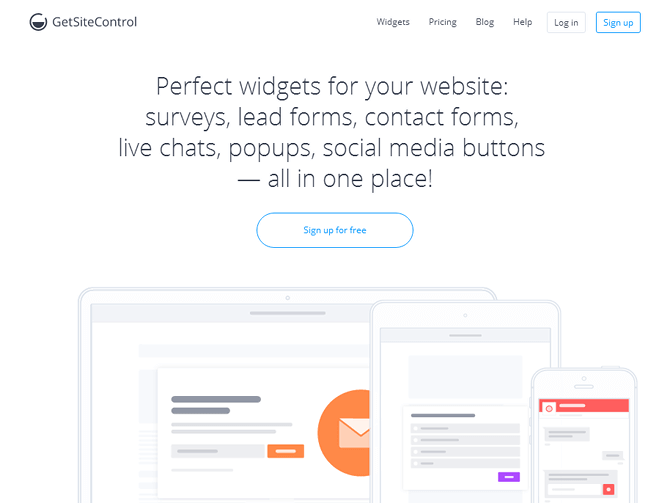 GetSiteControl Review: WordPress plugin and perfect user engagement widgets for your website