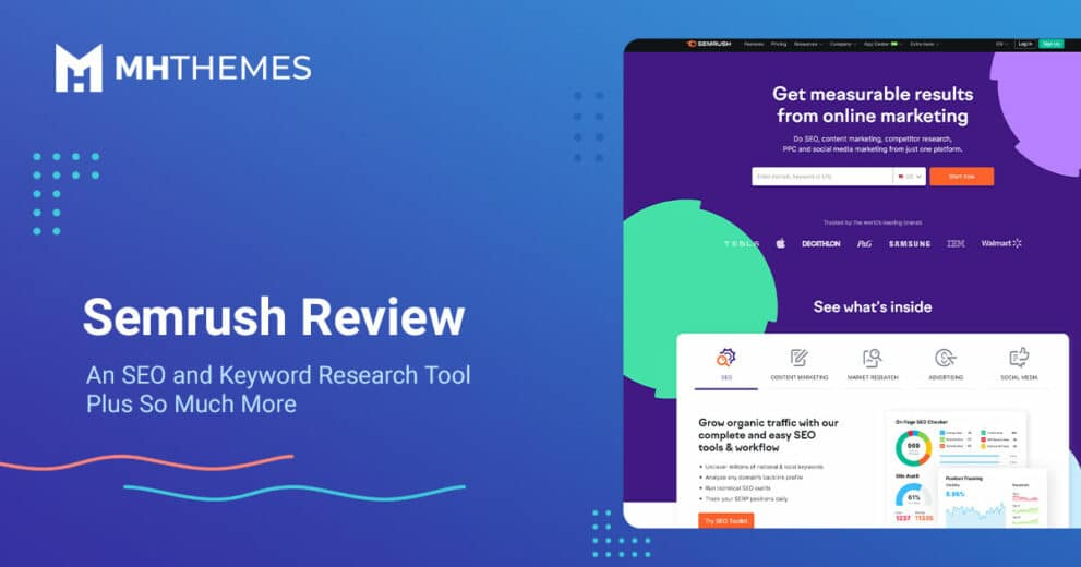 Semrush Review: An SEO and Keyword Research Tool Plus So Much More