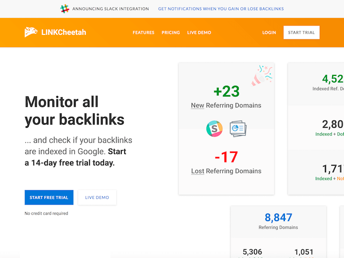 LINKCheetah Review: Monitor backlinks and rankings with this professional SEO tool