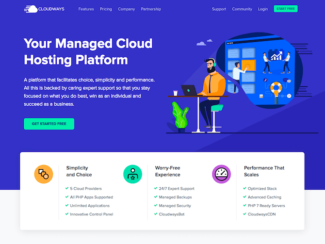 Cloudways Review: Fast WordPress hosting and lightweight themes – A combination that always wins