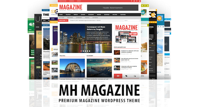 MH Magazine Theme