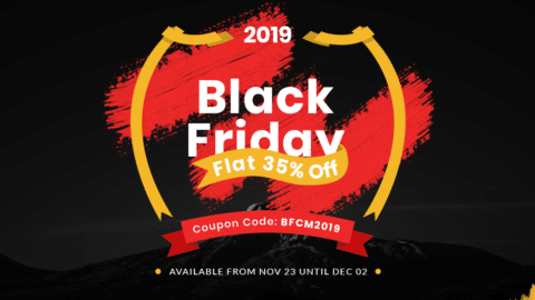 Black Friday Cyber Monday WordPress Deal ThemeGrill