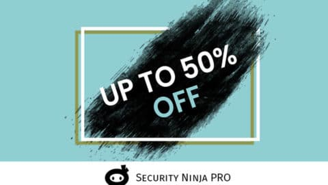 Black Friday Cyber Monday WordPress Deal Security Ninja