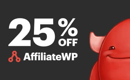 Black Friday Cyber Monday WordPress Deal AffiliateWP