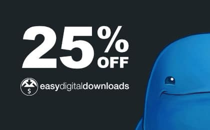 Black Friday Cyber Monday WordPress Deal Easy Digital Downloads