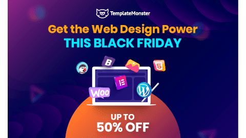 Black Friday Cyber Monday WordPress Deal Templatemonster
