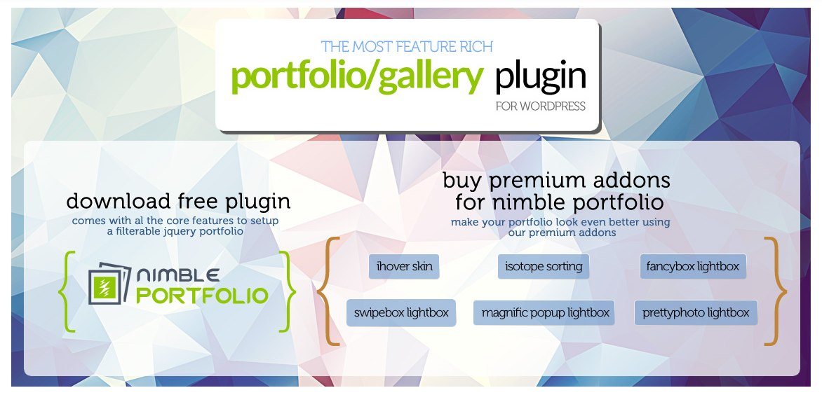 WordPress Portfolio Plugin Nimble Portfolio