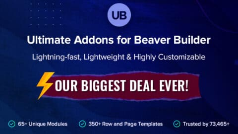 Ultimate Addons for Beaver Builder