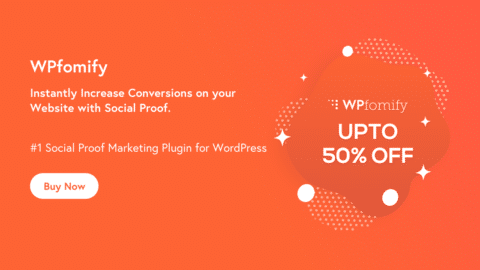 WPfomify – Social Proof Marketing for WordPress