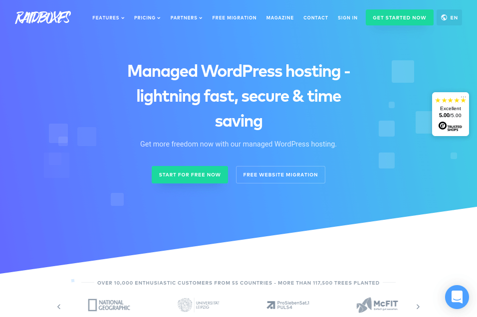 RAIDBOXES - Managed WordPress Host