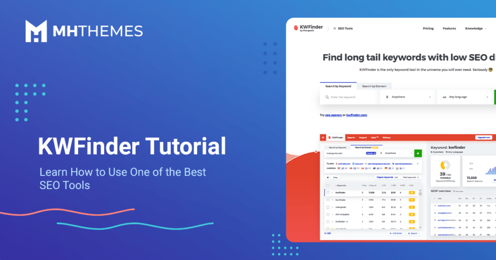 KWFinder Tutorial: Learn How to Use One of the Best SEO Tools